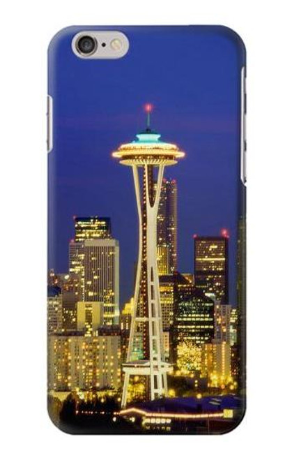 S3550 Space Needle Seattle Skyline Case For iPhone 6 Plus, iPhone 6s Plus