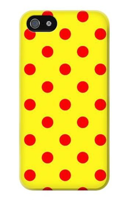S3526 Red Spot Polka Dot Case For iPhone 5 5S SE