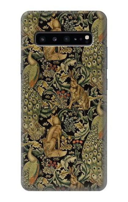 S3661 William Morris Forest Velvet Case For Samsung Galaxy S10 5G
