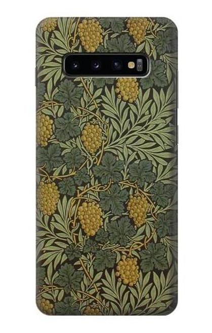 S3662 William Morris Vine Pattern Case For Samsung Galaxy S10 Plus