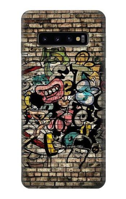 S3394 Graffiti Wall Case For Samsung Galaxy S10