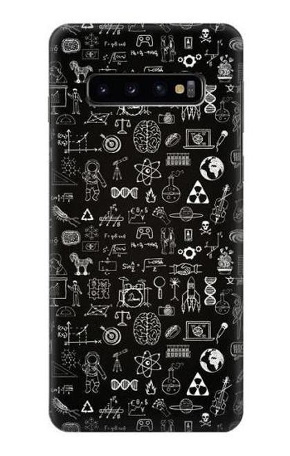 S3426 Blackboard Science Case For Samsung Galaxy S10