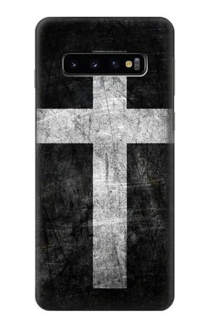 S3491 Christian Cross Case For Samsung Galaxy S10