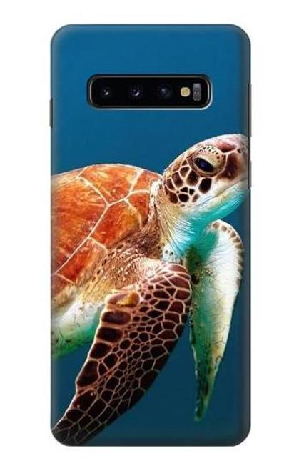 S3497 Green Sea Turtle Case For Samsung Galaxy S10