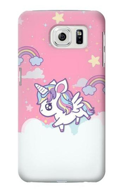 S3518 Unicorn Cartoon Case For Samsung Galaxy S7 Edge
