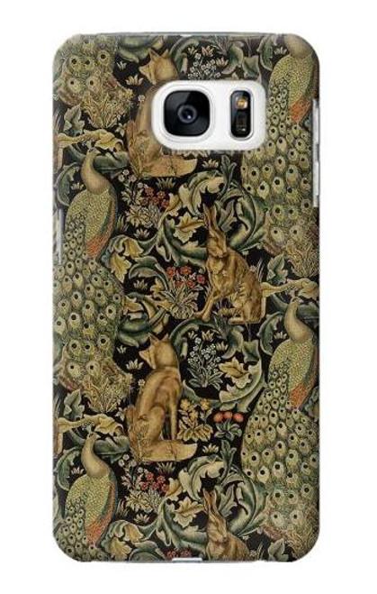 S3661 William Morris Forest Velvet Case For Samsung Galaxy S7