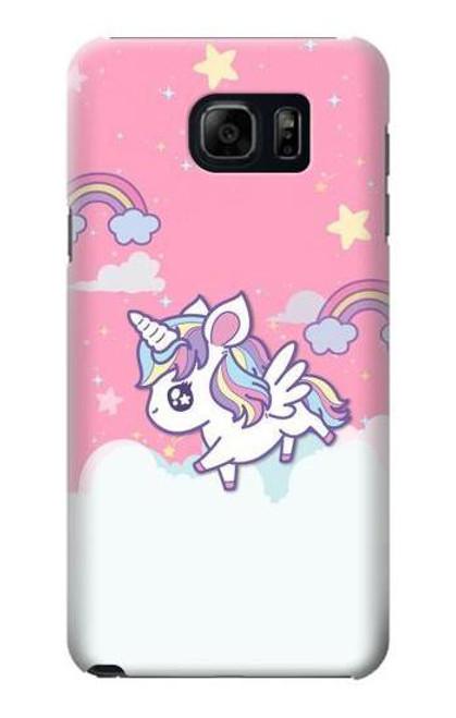 S3518 Unicorn Cartoon Case For Samsung Galaxy S6 Edge Plus