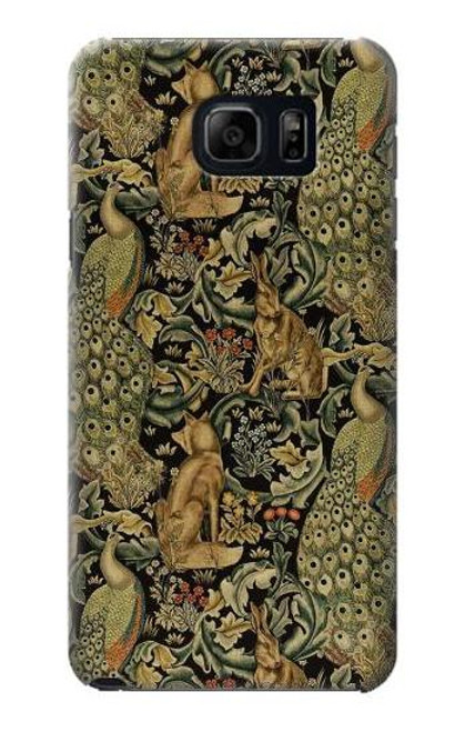 S3661 William Morris Forest Velvet Case For Samsung Galaxy S6 Edge Plus