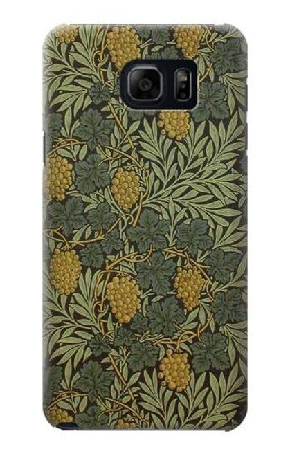 S3662 William Morris Vine Pattern Case For Samsung Galaxy S6 Edge Plus