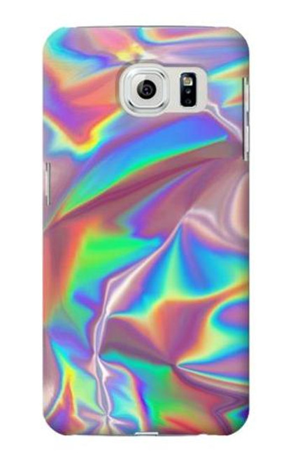 S3597 Holographic Photo Printed Case For Samsung Galaxy S6 Edge