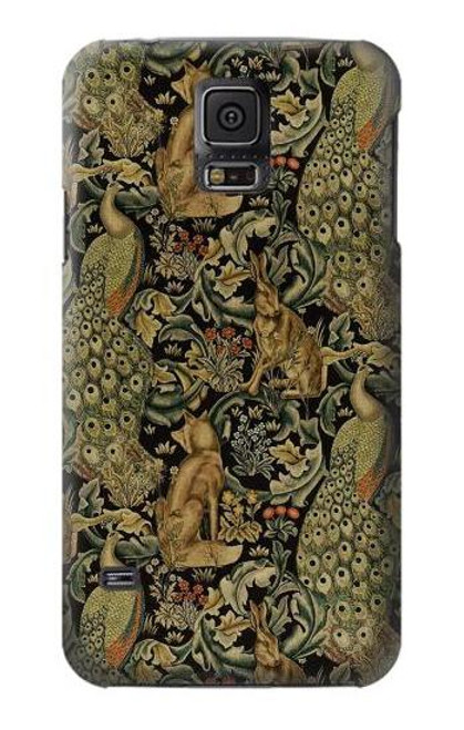S3661 William Morris Forest Velvet Case For Samsung Galaxy S5 mini