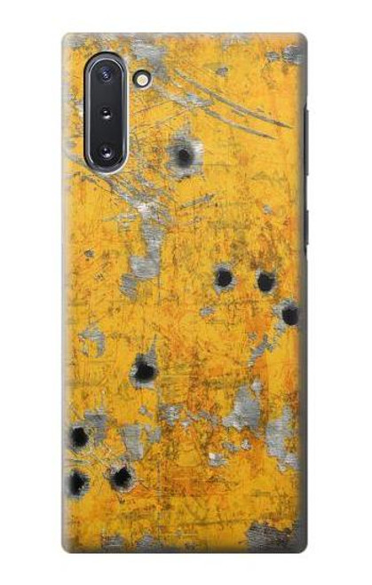 S3528 Bullet Rusting Yellow Metal Case For Samsung Galaxy Note 10