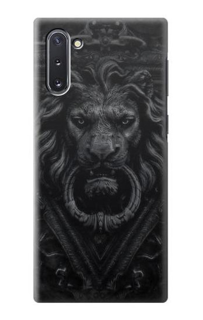 S3619 Dark Gothic Lion Case For Samsung Galaxy Note 10