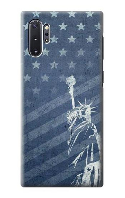S3450 US Flag Liberty Statue Case For Samsung Galaxy Note 10 Plus