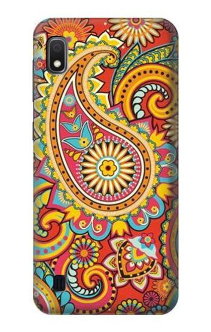 S3402 Floral Paisley Pattern Seamless Case For Samsung Galaxy A10