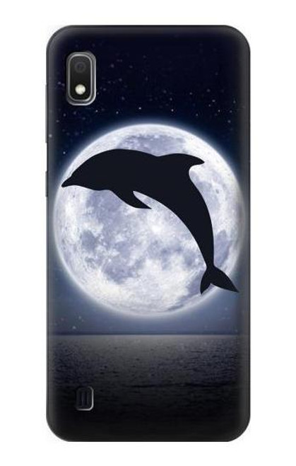 S3510 Dolphin Moon Night Case For Samsung Galaxy A10