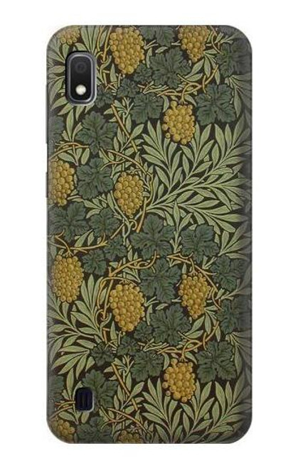 S3662 William Morris Vine Pattern Case For Samsung Galaxy A10