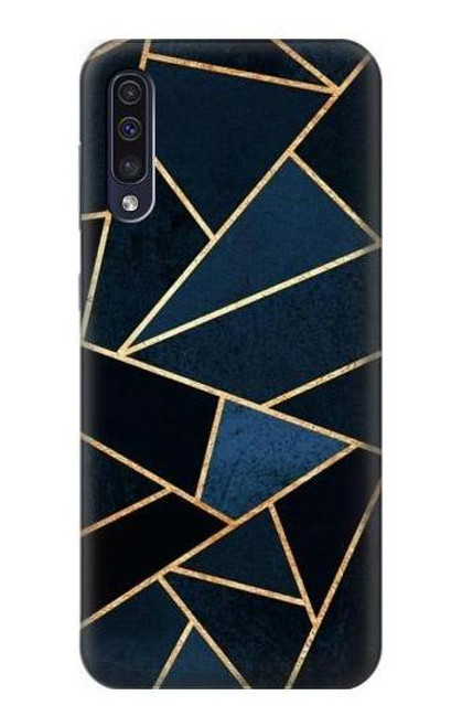 S3479 Navy Blue Graphic Art Case For Samsung Galaxy A50