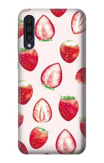 S3481 Strawberry Case For Samsung Galaxy A50