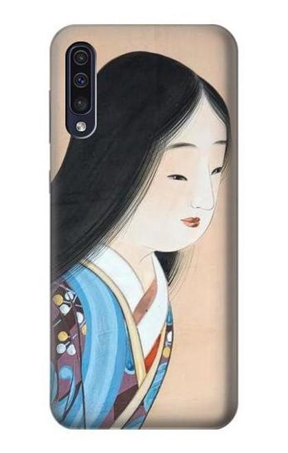 S3483 Japan Beauty Kimono Case For Samsung Galaxy A50