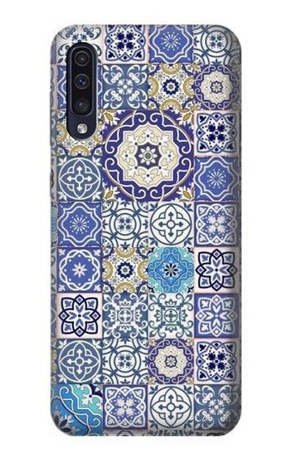 S3537 Moroccan Mosaic Pattern Case For Samsung Galaxy A50