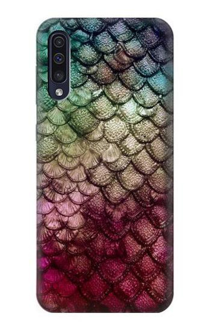 S3539 Mermaid Fish Scale Case For Samsung Galaxy A50