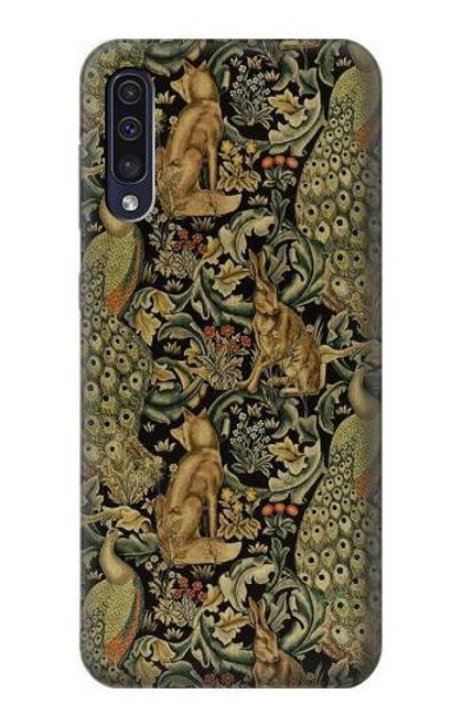 S3661 William Morris Forest Velvet Case For Samsung Galaxy A50