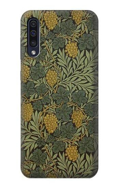 S3662 William Morris Vine Pattern Case For Samsung Galaxy A50