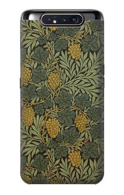 S3662 William Morris Vine Pattern Case For Samsung Galaxy A80