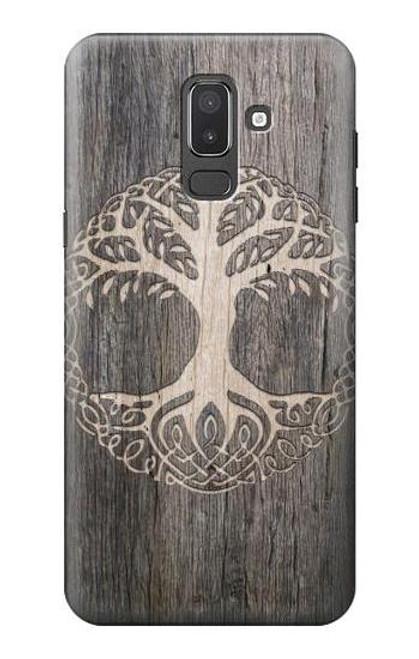 S3591 Viking Tree of Life Symbol Case For Samsung Galaxy J8 (2018)