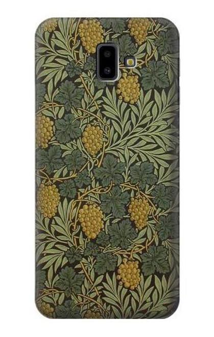 S3662 William Morris Vine Pattern Case For Samsung Galaxy J6+ (2018), J6 Plus (2018)