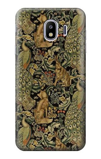 S3661 William Morris Forest Velvet Case For Samsung Galaxy J4 (2018)