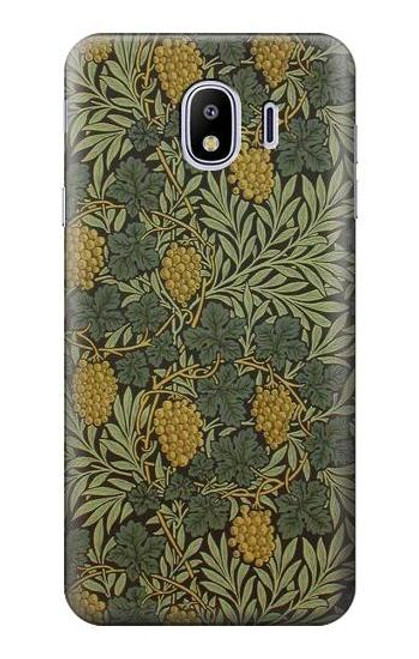 S3662 William Morris Vine Pattern Case For Samsung Galaxy J4 (2018)