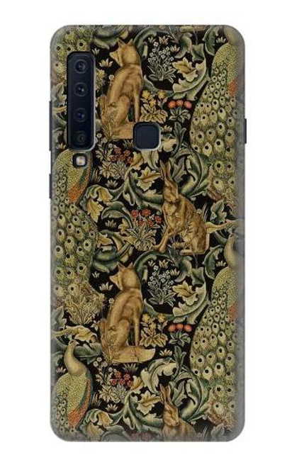S3661 William Morris Forest Velvet Case For Samsung Galaxy A9 (2018), A9 Star Pro, A9s
