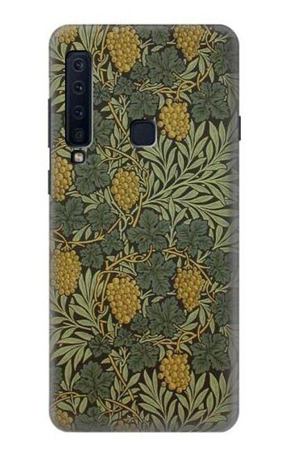 S3662 William Morris Vine Pattern Case For Samsung Galaxy A9 (2018), A9 Star Pro, A9s
