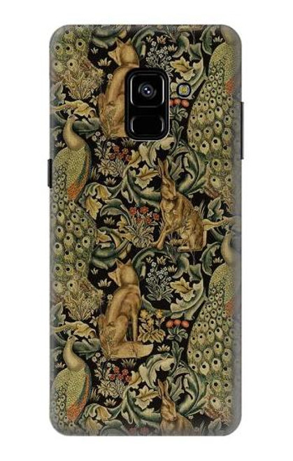 S3661 William Morris Forest Velvet Case For Samsung Galaxy A8 Plus (2018)