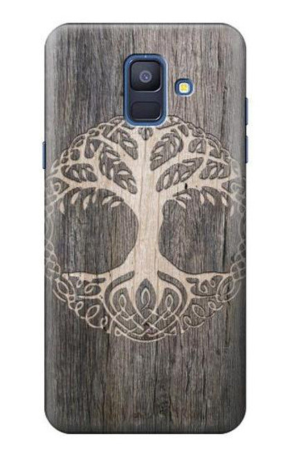 S3591 Viking Tree of Life Symbol Case For Samsung Galaxy A6 (2018)