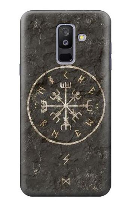 S3413 Norse Ancient Viking Symbol Case For Samsung Galaxy A6+ (2018), J8 Plus 2018, A6 Plus 2018