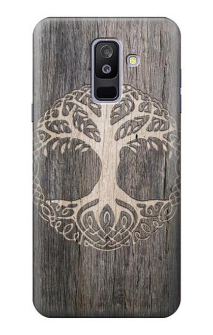 S3591 Viking Tree of Life Symbol Case For Samsung Galaxy A6+ (2018), J8 Plus 2018, A6 Plus 2018