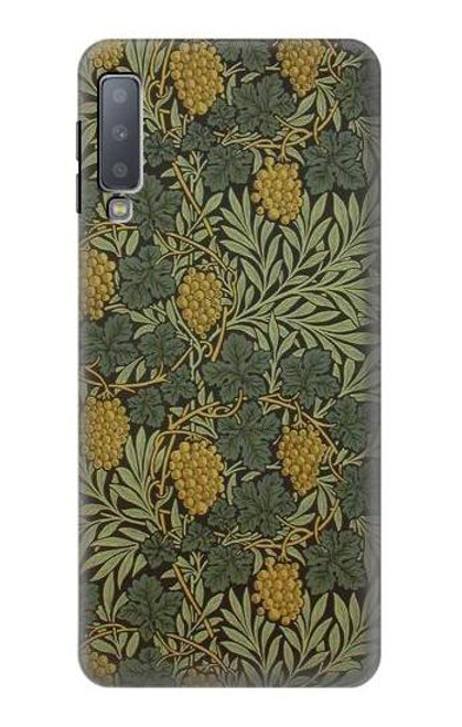 S3662 William Morris Vine Pattern Case For Samsung Galaxy A7 (2018)