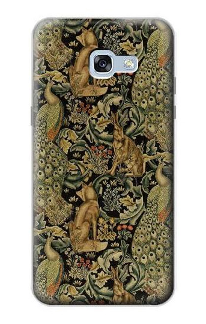 S3661 William Morris Forest Velvet Case For Samsung Galaxy A5 (2017)