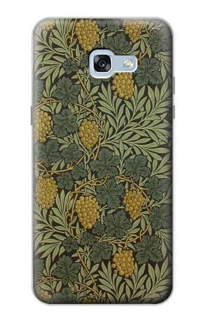 S3662 William Morris Vine Pattern Case For Samsung Galaxy A5 (2017)