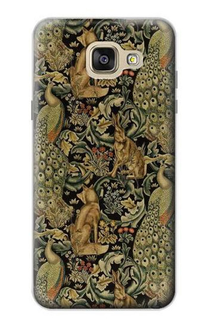 S3661 William Morris Forest Velvet Case For Samsung Galaxy A5 (2016)