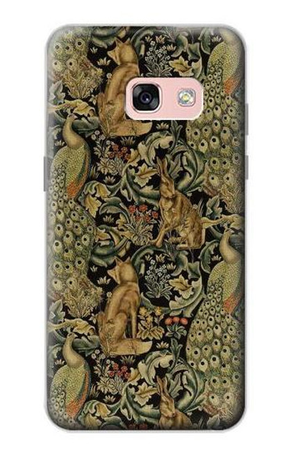 S3661 William Morris Forest Velvet Case For Samsung Galaxy A3 (2017)