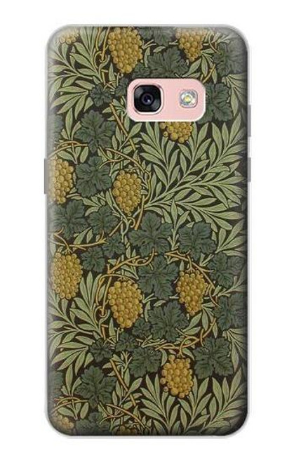 S3662 William Morris Vine Pattern Case For Samsung Galaxy A3 (2017)