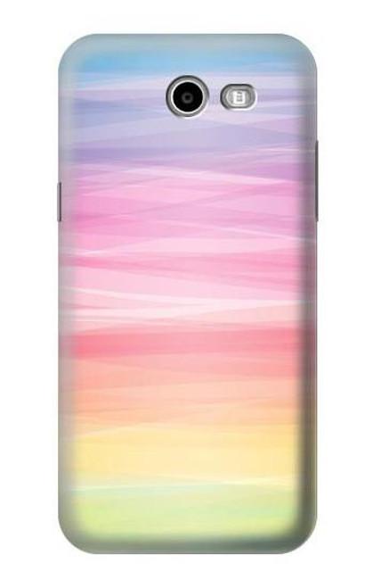 S3507 Colorful Rainbow Pastel Case For Samsung Galaxy J7 (2017), J7 Perx, J7V, J7 Sky Pro