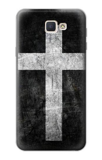 S3491 Christian Cross Case For Samsung Galaxy J7 Prime (SM-G610F)