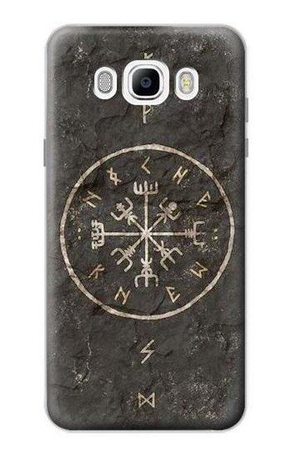 S3413 Norse Ancient Viking Symbol Case For Samsung Galaxy J7 (2016)