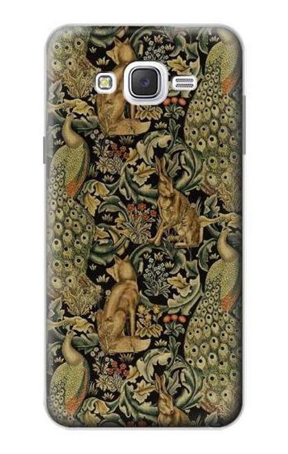 S3661 William Morris Forest Velvet Case For Samsung Galaxy J7