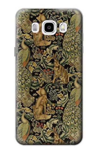 S3661 William Morris Forest Velvet Case For Samsung Galaxy J5 (2016)